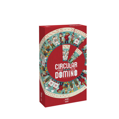 Game - I Want To Be Circular Dominoes - From londji games collection - Londji