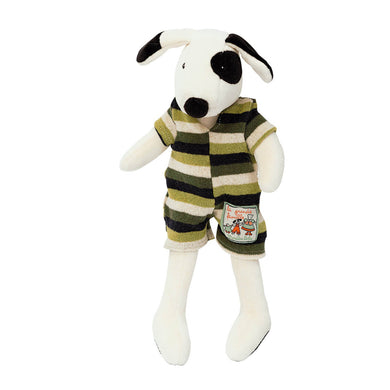 Stuffed animal - Little dog plush toy - From moulin roty's la grande famille collection - moulin roty