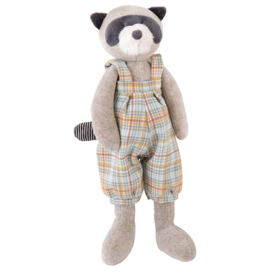 Stuffed animal - Raccoon stuffed animal - From Moulin Roty's la grande famille collection - Moulin Roty