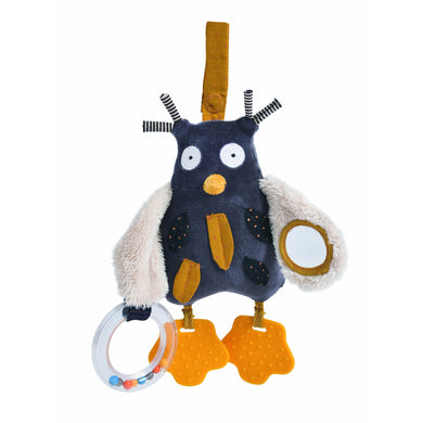 Activity animal - Activity owl - From moulin roty's les moustaches collection - Moulin roty