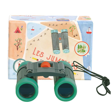 Binoculars - Children binoculars with gift box - From Moulin Roty's le jardin collection - Moulin roty