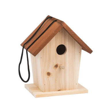 Bird house - Wooden bird house - From Moulin Roty's le jardin collection - Moulin roty