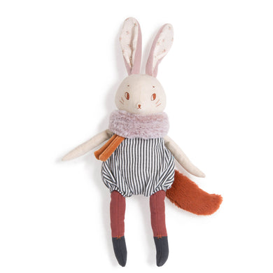 Stuffed animal - Stuffed rabbit - From moulin roty's apres la pluie collection - Moulin roty
