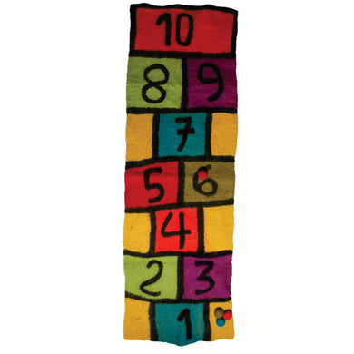 Felt toy - Felt hopscotch set - From Papoose's early learning collection - Papoose