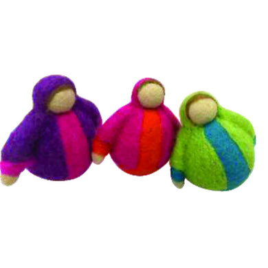 Felt dolls - Rolypoly felt dolls - From Papoose 's felt dolls collection