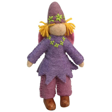 Felt dolls - Fairy gnomes 3 pieces - From Papoose's felt dolls collection - Papoose