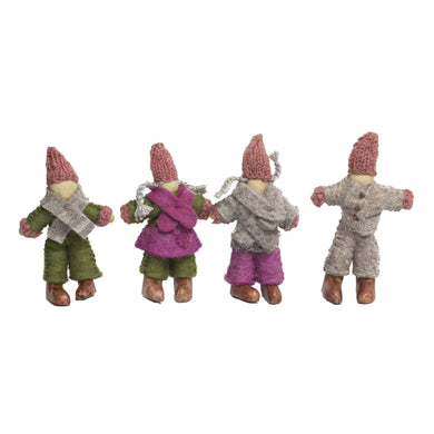 Felt Dolls - Woodland Fairy Giants - From Papoose's felt dolls collection - Papoose