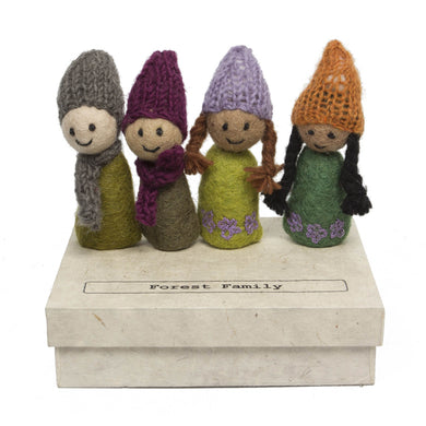 Finger Puppets - Forest Family