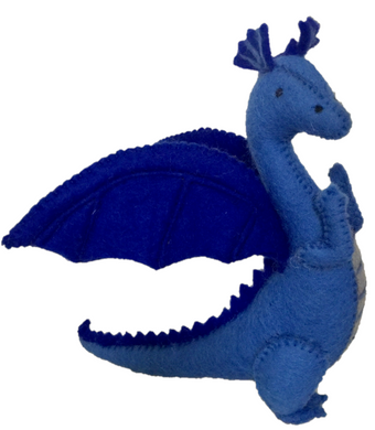 Animals - Blue Dragon (2 pieces)
