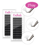 2 Trays Easy Fan Lash Extensions - Fadlash