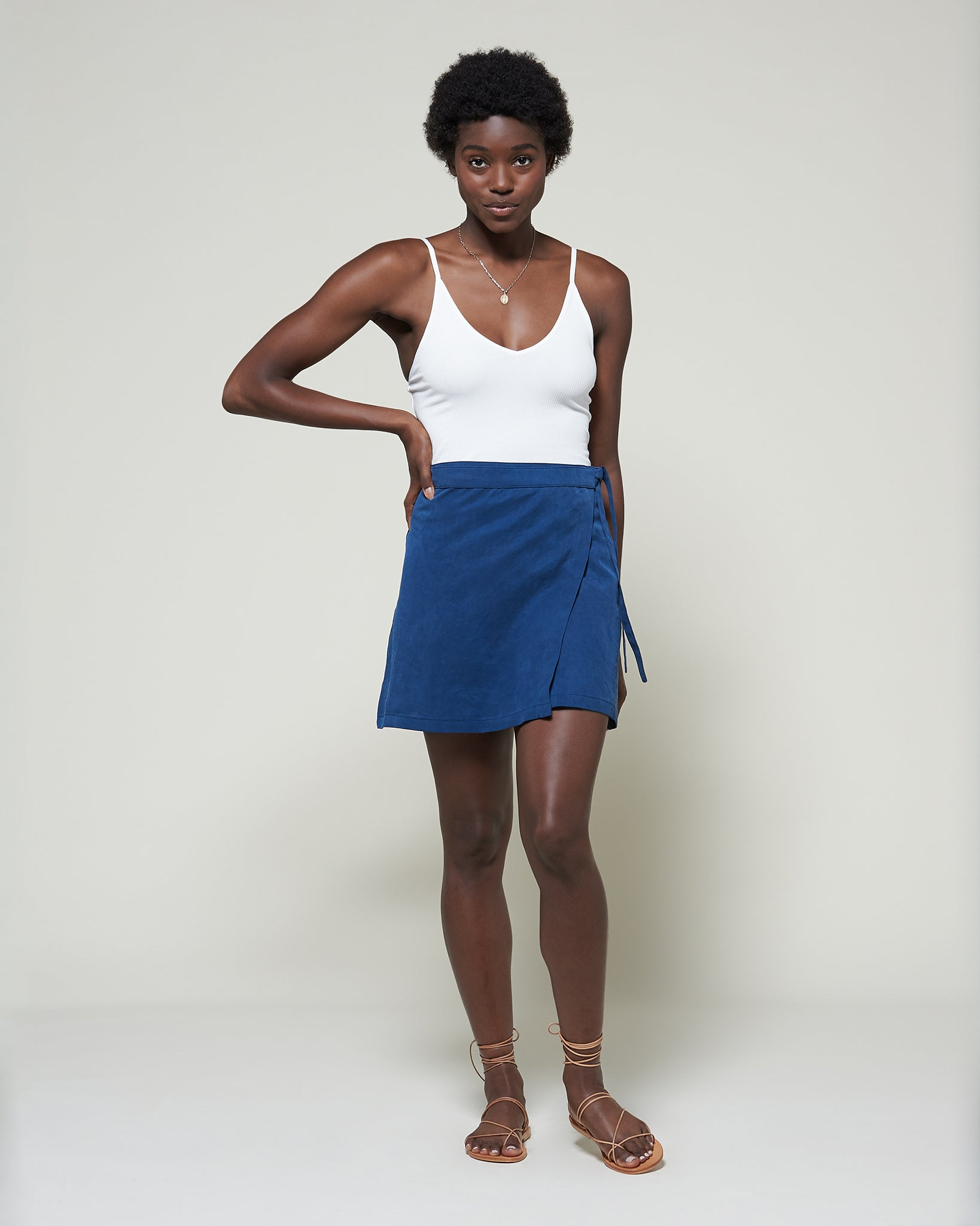 The Ines Wrap Skirt