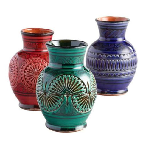 Sugar bowls and vases