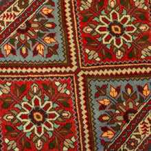 Load image in gallery viewer, Iranian Persian carpet red colors