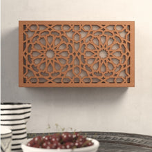 Load image in gallery viewer, Arabic wooden lattice wall lamp Andalus
