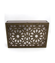 Load image in the gallery viewer, Arabic wooden lattice wall lamp Andalus design