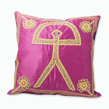 Load image in gallery viewer, pink Indalo Almería cushion