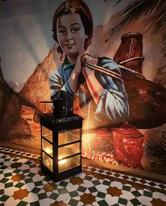Moroccan lantern for candle moulay