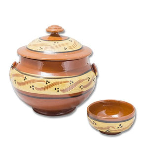 Moroccan ceramic bowls and tureen