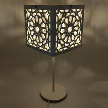 Load image in gallery viewer, Kheder model wooden lattice arabic lamp