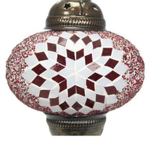 Load image into gallery viewer, Turkish red crystal lamp