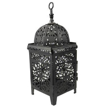 Load image in gallery viewer, forge menara Moroccan candle holder