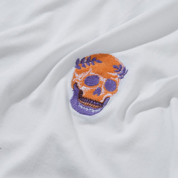 1POINT EMBROIDERY - SKULL