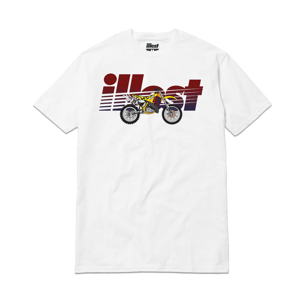 ILLEST BRAAAP BIKE - WHITE