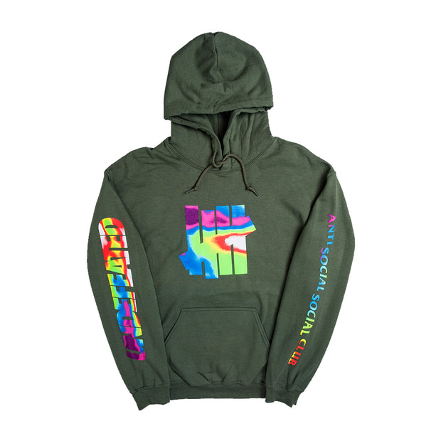 HOT IN  HERE HOODY - ARMY