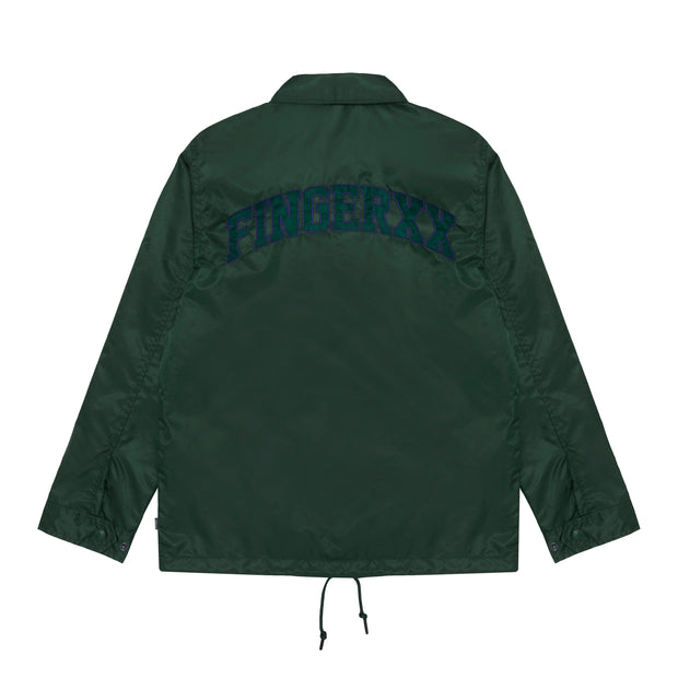 Embroidered Logo Coach Jacket