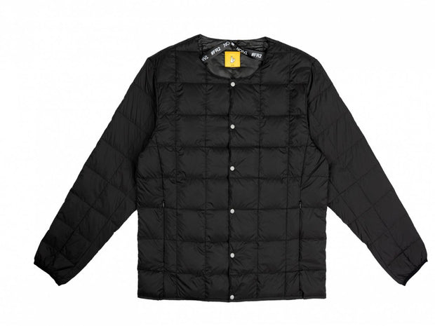 FR2XTAION CREW NECK BUTTON DOWN JACKET