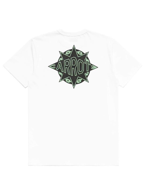 GS CARROTS T-SHIRTS - WHITE
