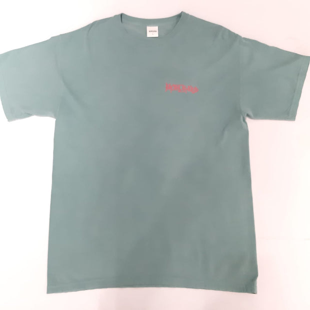 ICONIC GARMENT DYED T-SHIRTS - GREEN