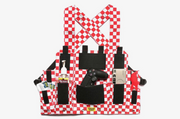 Chinatown Market Chest Rig (Red/White)