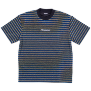 DISTURBED GLITTER STRIPE SHIRT