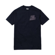 Free Minds Neon Tee - Navy Blue
