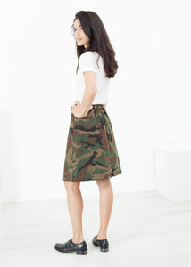 Military Skirt in Camo