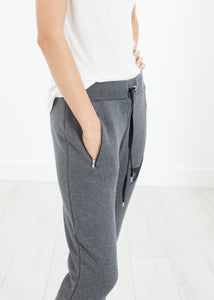 Loopwheeler Star Pant in Grey