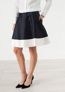 Circle Skirt in Navy