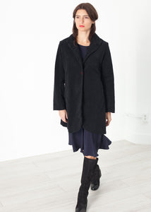 Griffon Coat in Black