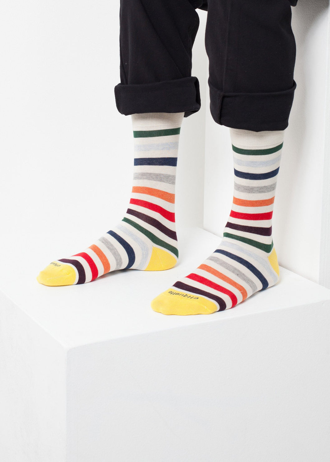 East River Stripe Sock