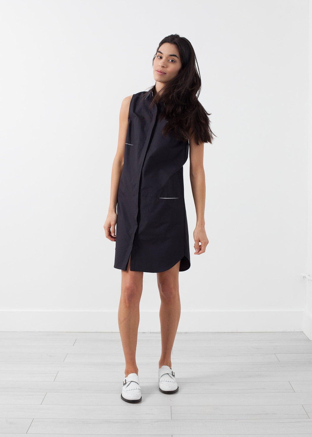 Sleeveless Hidden Pocket Dress