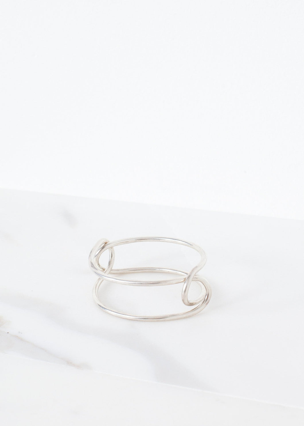 Bracelet 84 in Polished Silver