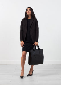 Double Pocket Blazer in Black