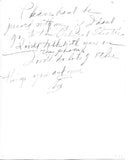 Eve Southern - AUTOGRAPHED AND NOTE! RARE!