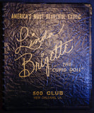 "EXTREMELY RARE New Orleans 500 Club portfolio - Linda Brigette ""The Cupid Doll"""
