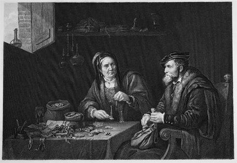 Sharpe, C. W.; after Teniers: The Misers
