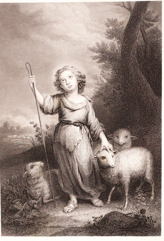 Armytage, J. C., after Murillo: The Good Shepherd