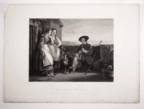 Lightfoot, P.; after Wilkie: The Gentle Shepherd (after original by Sir David Wilkie )