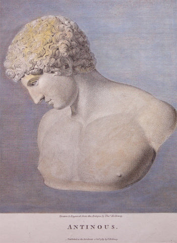 Holloway, Thomas (1748 - 1827): Bust of Antinous