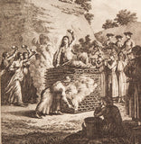 Hurd, William Alexander Hog: Sati - An Indian Woman Buring Herself on the Death of her Husband